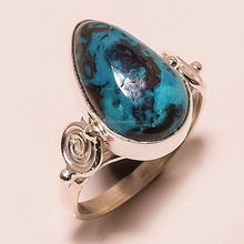 Tibetan Turquoise gemstone 925 Sterling Silver Stackable Ring Jewelry Wholesaler