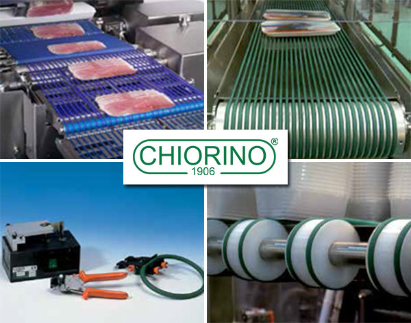 Chiorino Polyurethane round and V-belts