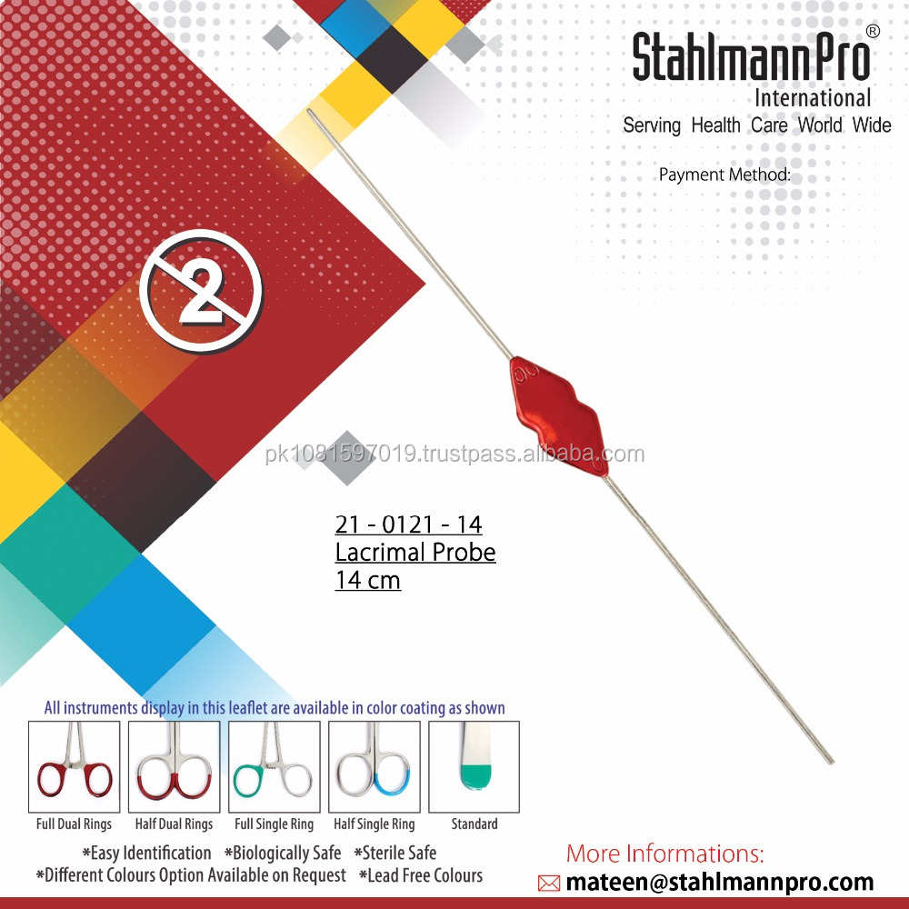 Single Use Disposable Lacrimal Probe 140mm