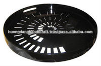 round lacquer tray with exporter in Viet Nam100% natural material