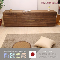 Top quality spacious chest of drawer cabinet furniture made in Japan