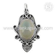 Good Looking Moon Stone 925 Sterling Handmade Silver Jewelry Wholesaler