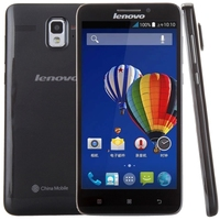 Lenovo A688T Smart Phone 5.0 Inch Android 4.4 MTK6582 + MTK6290 Quad Core 1.3GHz, RAM: 1GB, ROM: 4GB(Black)