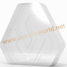 acrylic trophy display cases/acrylic trophy case/acrylic trophy china