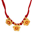 Jaipur Mart Necklace Wholesale Oxidised Gold Plated Jewelry Indian Traditional Design Necklace for Fashion Girls & Women