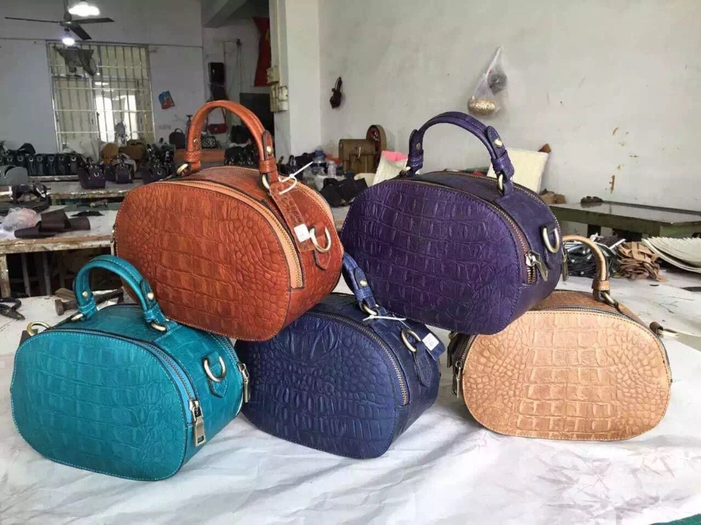 Pure Genuine Leather Handbag Manufacturer in China