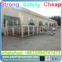 steel mezzanine rack shelf,suspended platform,stage platform