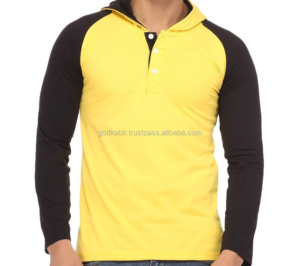 Most people first choice softest and use in summer best fabric use made Men's Hooded Cotton T-Shirt.