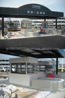 Long-lasting and Durable smart parking system guard house with multiple functions made in Japan
