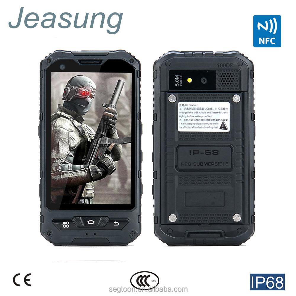 Hot Sale Rugged Waterproof Phone MTK6582, Dual SIM,4.0inch , NFC Function