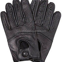 Gloves Unisex Genuine Leather Driving Fashion