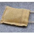 2.75 x 4 single Drawstring muslin Bag (Jute Bag)