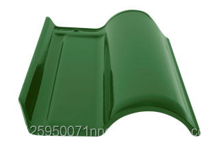 WAVE GLAZED ROOF TILE GREEN