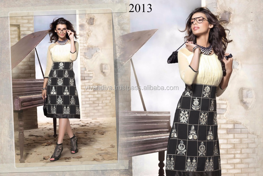 Exclusive Wholesale Georgette Kurti