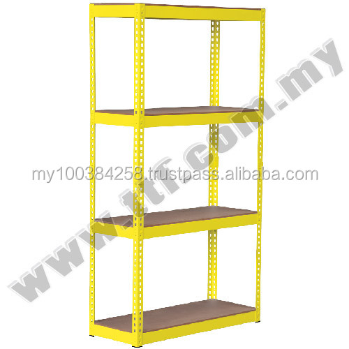 Boltless DIY Rack Yellow, Racks, Racking, TTF Storage Racking System