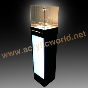 custom plexiglass lucite acrylic holder stand clear e-cigarette pen display