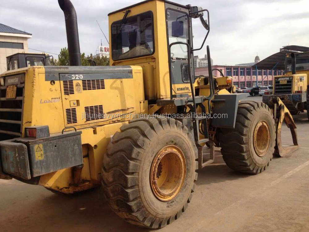 Used JAPAN MADE wheel LOADER Komatsu WA320 wheel loader, komatsu wa320, wa350, wa380, wa420, wa70