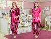 fancy %100 cotton maternity pyjamas for adult pregnant women