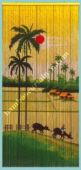 Vietnam Factory Direct Sell High Quality bead door curtain countryside