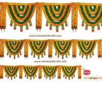 10 feet flower door decoration toran