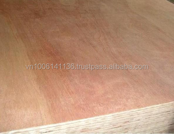 KERUING PLYWOOD WITH BRAND NAME