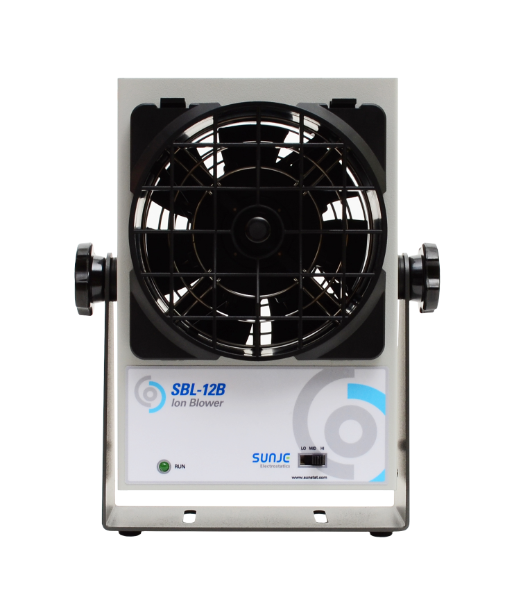 SBL-12B/Small Ion Blower/Static free air blow/One Fan Desktop(Benchtop) minisize easy maintenance electrostatic eliminator