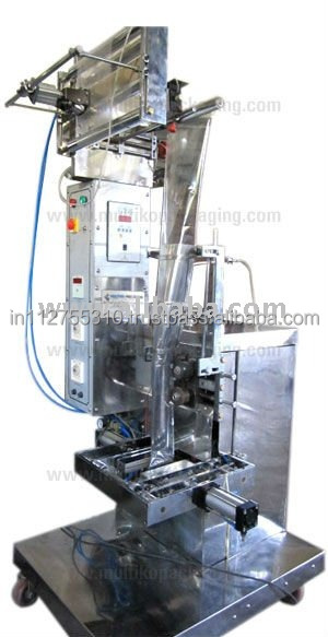 Fully Automatic Pneumatic type Vertical Form Fill Seal Machine with piston filler and intermittent type sealer