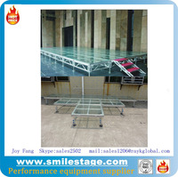 Acrylic platform stages suiatble for swimming pool