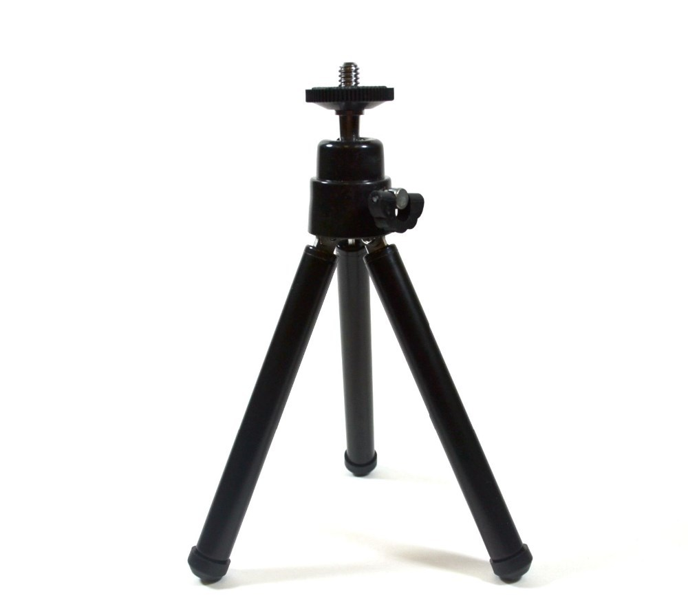 Portable 360 Degree Rotating Tripod for Camera or Mobile Phone