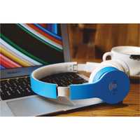 Wireless bluetooth headset with microphone