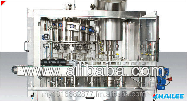 Sauces - Rotary Piston Filling Machine and Capping Machine