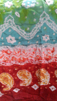 Colour Silk Fabric