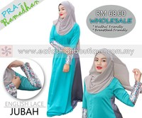ENGLISH LACE JUBAH