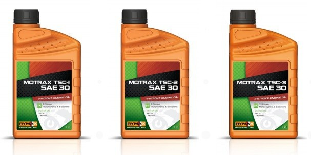 Motorcycle & Scooter Engine Oil MOTRAX TSC-1/-2/-3