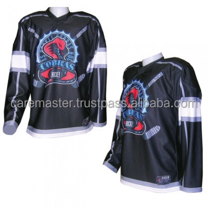 brand new sportswear sublimated custom jersey ice hockey