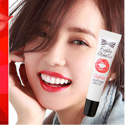 Sexy Red Pink Orange Color Lip Moist Pack hot selling Daily Use Produced by Japan