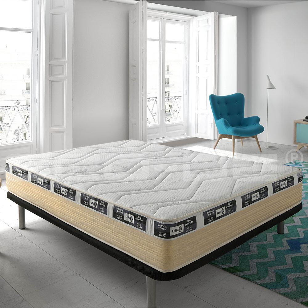 Visco gel unic2 carbon mattress ECO-UNC - Jozy Mattress | Jozy.net