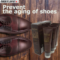 Waterproof and emulsifying high class mens leather dress shoes polish cream , other shoes care goods available