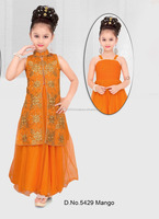 Child boutique clothing party wear anarkali baby dress - Salwar kameez patterns for girls - Cheap girl anarkali dress