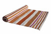 cotton hand loom stripped yoga rugs for yogis
