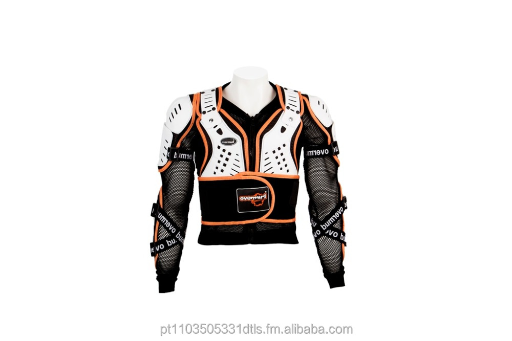 Overmud Motorcycle Racing Full Body Armor Jacket Spine Chest Protective Gear