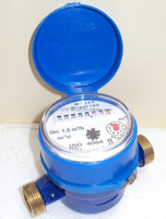 "Water Meter (E-jet)-P- Brass 1/2"" (13mm)-Philippines"