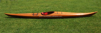 Fast Kayak 18' High Deck Racing - Handmade wooden rowing boat