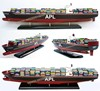 APL CONTAINER SHIP - WOODEN MODEL SHIPS