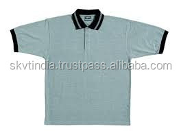 100% cotton indian design your own polo t shirt