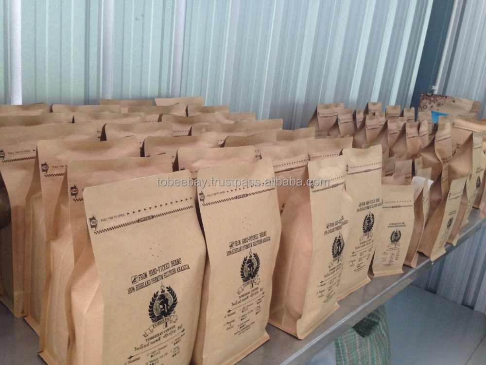 Premium Northenr Thailand Arabica Roasted Coffee Beans / Packing/Roasting