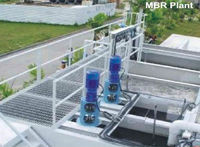 water treatment with MBR plant