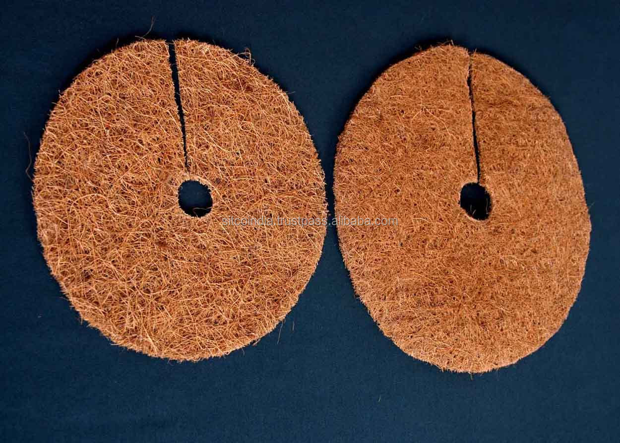 Biodegradable Weed Control Tree Mat Made Up of Coir Fiber