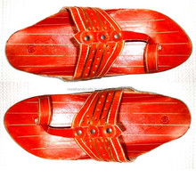 Indian Vintage Pure Leather Mojari Shoes Flat Slipper Pure Jutti From