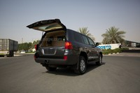 Armored Toyota Land Cruiser 3/4 armour - Armoured SUV, Bulletproof Cars - MSPV Armored vehicles